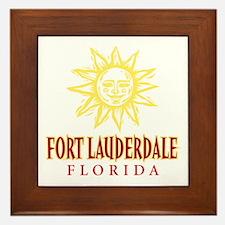 Ft. Lauderdale Sun - Framed Tile