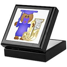 Baby Initials - J Keepsake Box