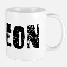 Suweon Faded (Black) Mug