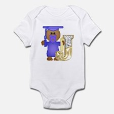Baby Initials - J Infant Creeper