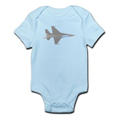 F-16 Infant Bodysuit