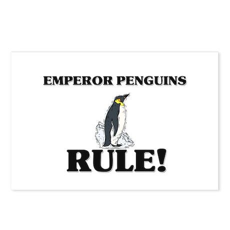 Emperor Penguins Rule! Postcards (Package of 8)