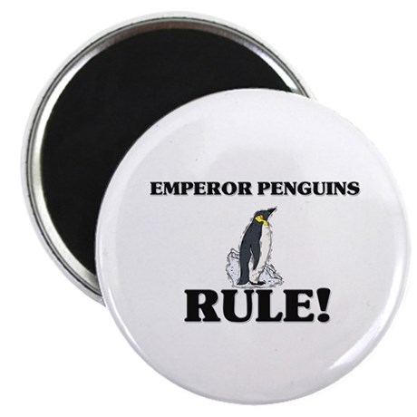 Emperor Penguins Rule! Magnet