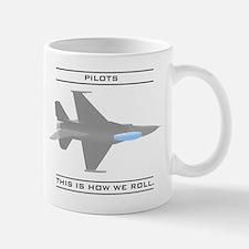 Pilots: How We Roll Mug