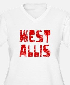 West Allis Faded (Red) T-Shirt