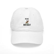 Elk Rule! Baseball Cap