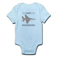 Pilots: How We Roll Infant Bodysuit