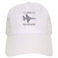 Pilots: How We Roll Baseball Cap