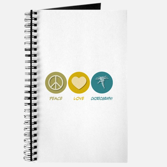 Peace Love Choreography Journal