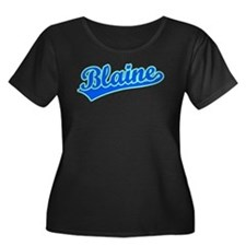 Retro Blaine (Blue) T