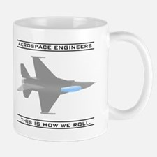 Aero Engineers: How We Roll Mug