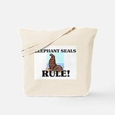Elephant Seals Rule! Tote Bag