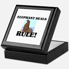 Elephant Seals Rule! Keepsake Box