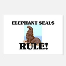 Elephant Seals Rule! Postcards (Package of 8)