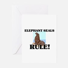 Elephant Seals Rule! Greeting Cards (Pk of 10)