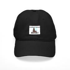 Elephant Seals Rule! Baseball Hat