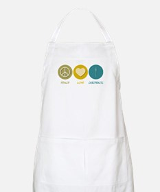 Peace Love Chiropractic BBQ Apron