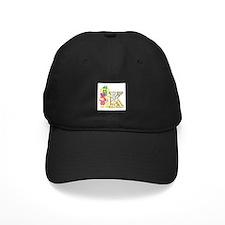Baby Initials - K Baseball Hat