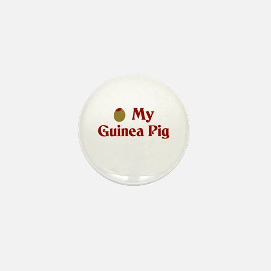 Olive (I Love) My Guinea Pig Mini Button (10 pack)