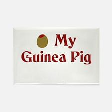 Olive (I Love) My Guinea Pig Rectangle Magnet
