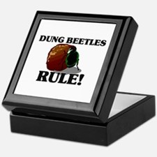 Dung Beetles Rule! Keepsake Box