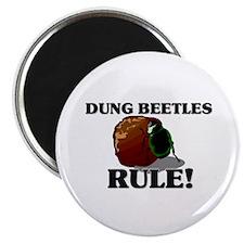 Dung Beetles Rule! Magnet