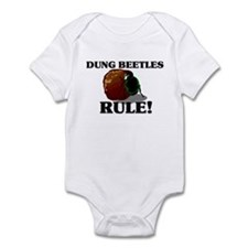 Dung Beetles Rule! Infant Bodysuit