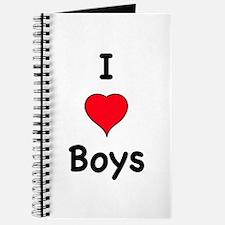 Cute I like boys Journal