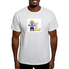 Baby Initials - L Ash Grey T-Shirt