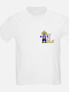 Baby Initials - L Kids T-Shirt