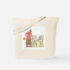 Baby Initials - M Tote Bag