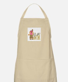Baby Initials - M BBQ Apron