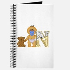 Baby Initials - N Journal