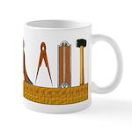 Masonic Working Tools Mug