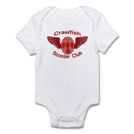 Crawfish Scooter Club Infant Bodysuit