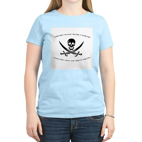 Pirating Secretary Women's Light T-Shirt