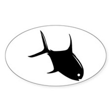 """""""Tailing Permit"""" Oval Decal"""
