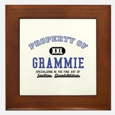 Property of Grammie Framed Tile