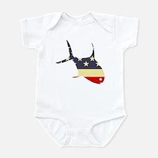 """""""Patriotic Permit"""" Infant Bodysuit"""