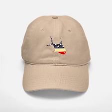 """Patriotic Permit"" Baseball Baseball Cap"