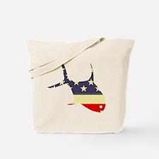 """""""Patriotic Permit"""" Tote Bag"""