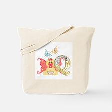 Baby Initials - Q Tote Bag