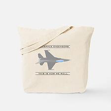 Aero Engineers: How We Roll Tote Bag