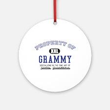 Property of Grammy Ornament (Round)