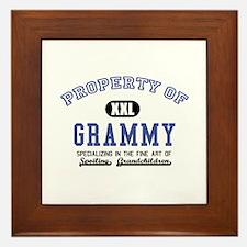 Property of Grammy Framed Tile