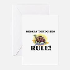Desert Tortoises Rule! Greeting Cards (Pk of 10)