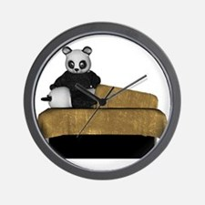 Panda Bear Massage Wall Clock