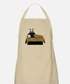 Panda Bear Massage BBQ Apron