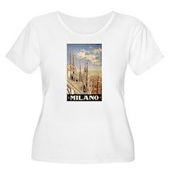 Milano Travel poster T-Shirt