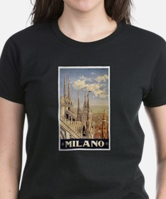 Milano Travel poster Tee